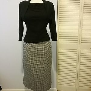 Vintage pencil skirt by SAG HARBOR